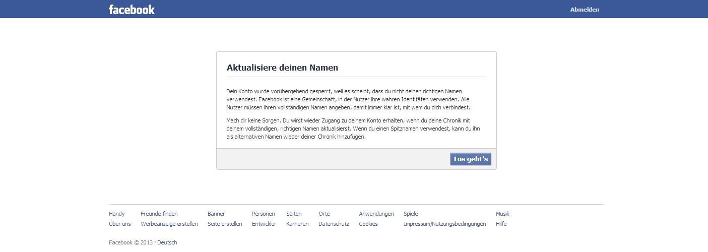 facebook konto finden
