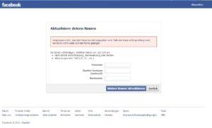 fb account gesperrt
